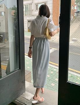 Tender Ribbon String Skirt