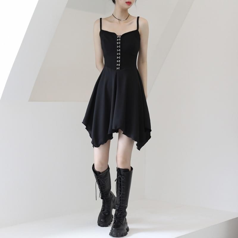 Noel hook mini Dress 迷你短洋裝