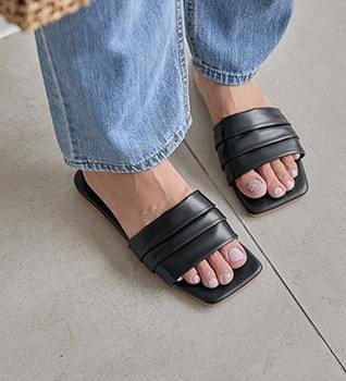 Malang Square Mules Slippers #86634