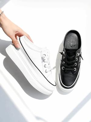 Plug Leather Height Sneakers Blowers 7cm