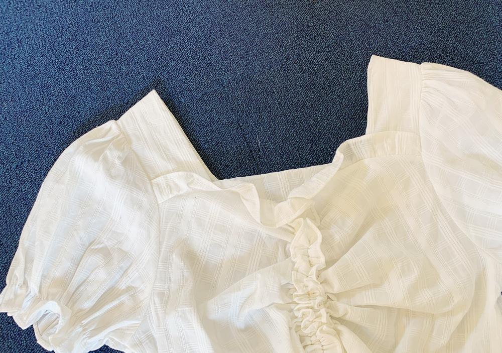 Sugar Bishire link drop blouse