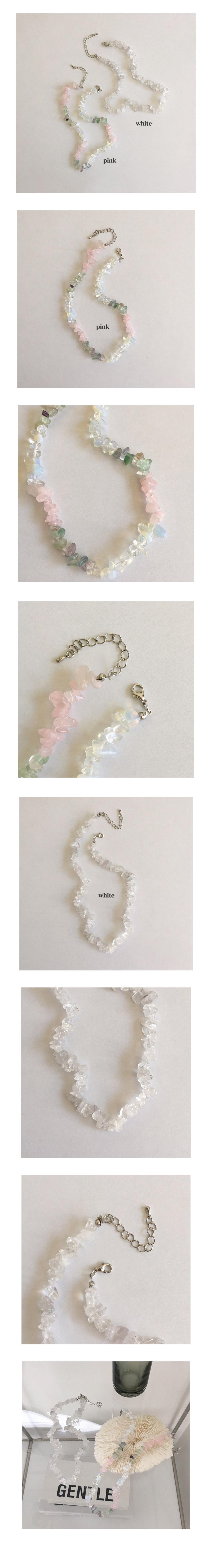 pure gemstone necklace