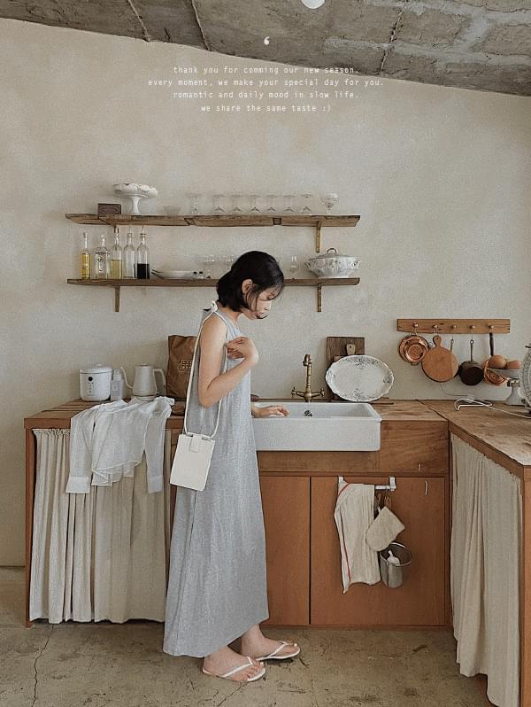 Someday Cotton Sleeveless Dress