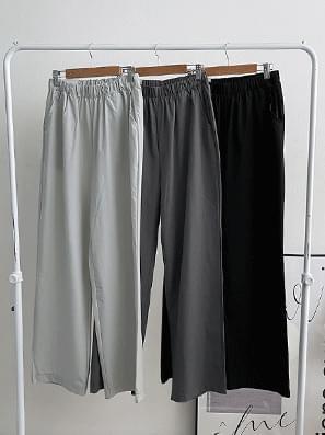 Bass Rock Nylon Banding Long Pants