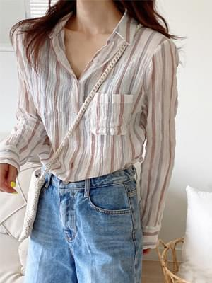 wink striped shirt