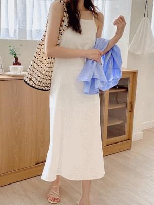 Bellows Sleeveless Dress