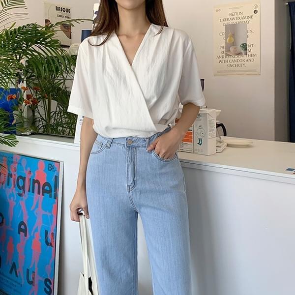 Lauren * Wrap blouse