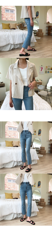 Modic Linen Short Sleeve Jacket