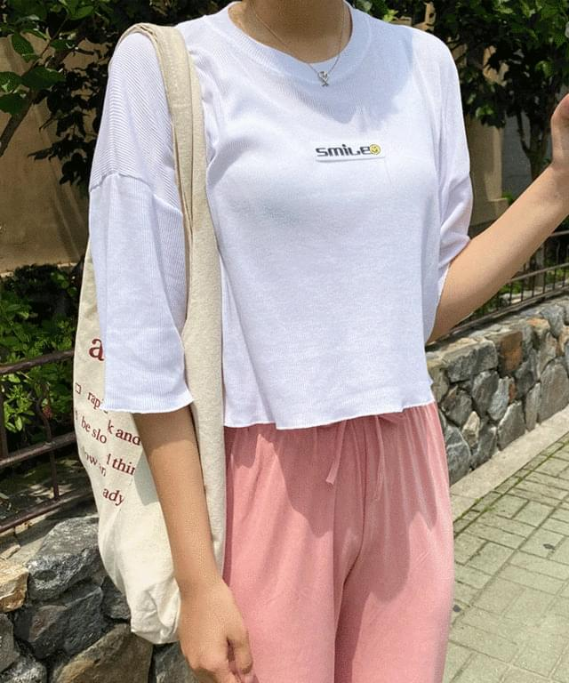 Big Size 55-99 wingki crop Ribbed Short T-shirts