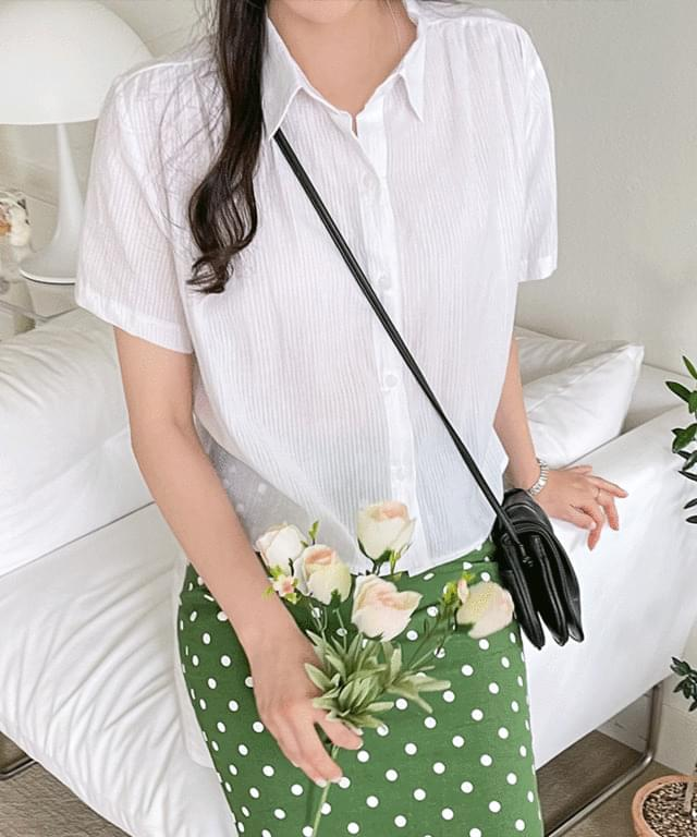 Big Size 55-120 Melard Check Short Sleeve Shirt