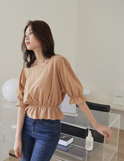 rona frill blouse