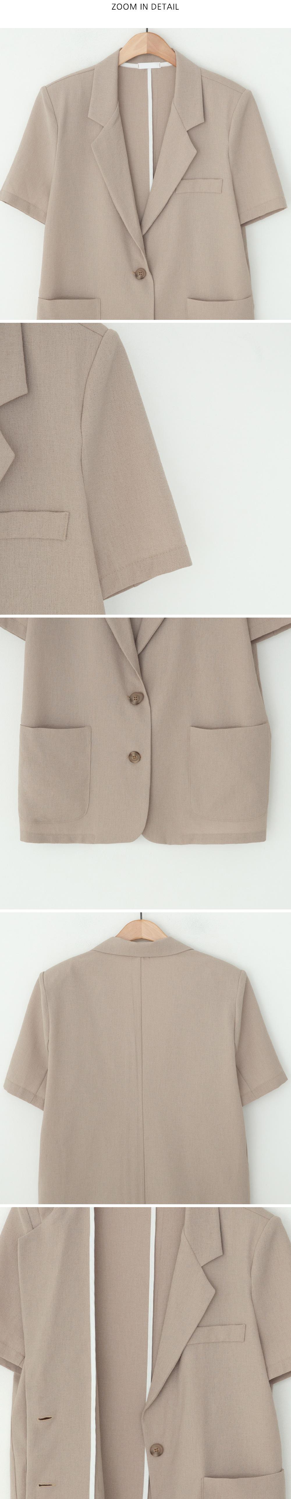 Robben tailored short sleeve jacket