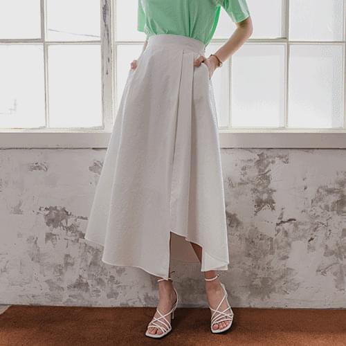 Jenny flared long skirt