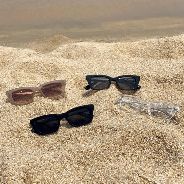 Square Tint Sunglasses 4color