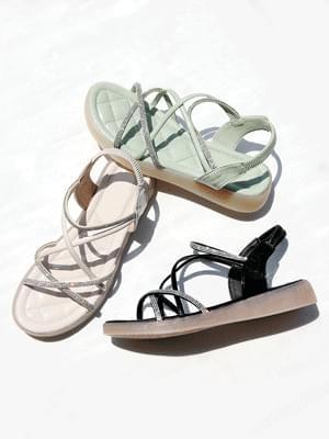 Pretty Slingback Wedge Sandals 3cm