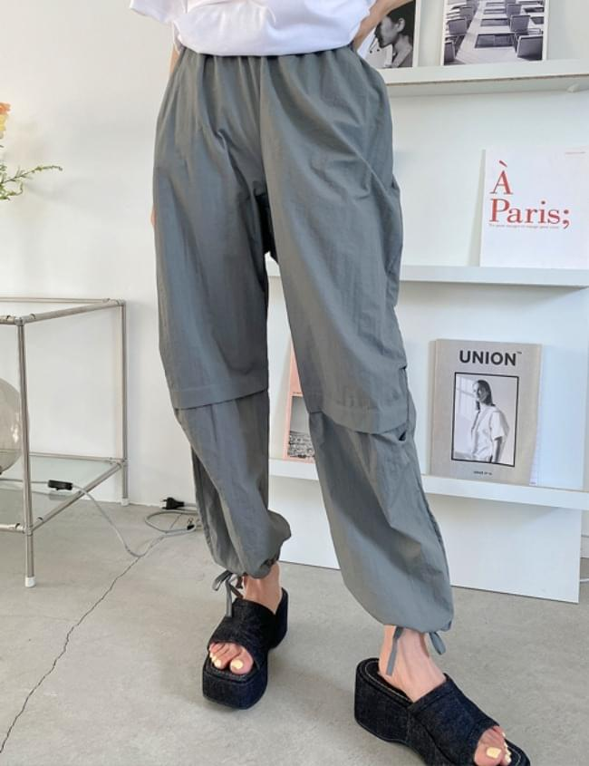 pound string trousers 長褲