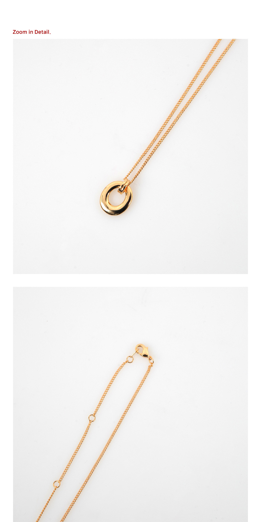 Bold Hall Necklace