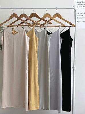 double cross strap Dress