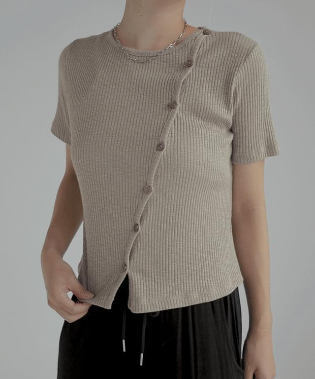 amy line short sleeve cardigan
