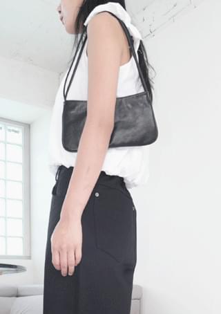 flat two strap bag