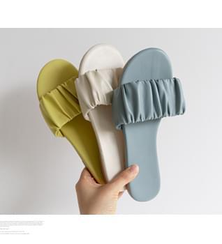 Shirring Slippers #86640