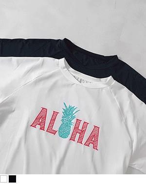 Aloha Rash Guard Long Sleeve Tee