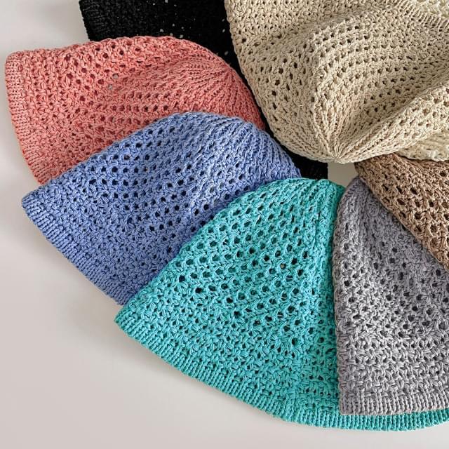 Capri Punching Knitwear Bucket Hat 帽子