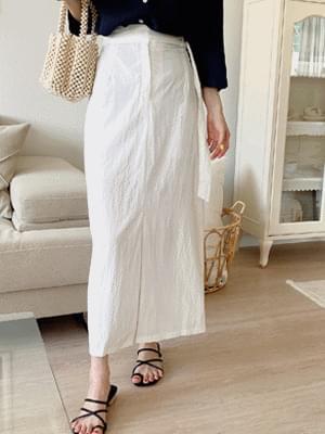 mallow waist skirt