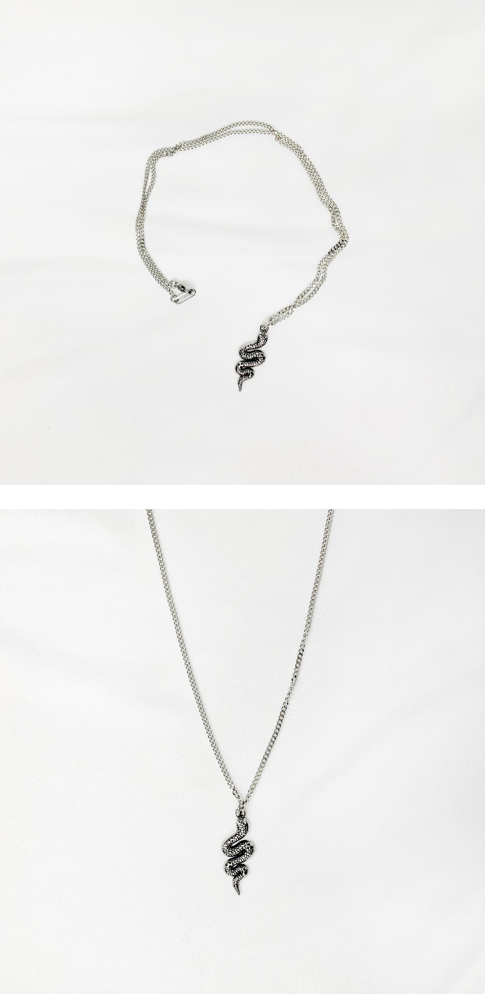 E'Dawn snake chain necklace