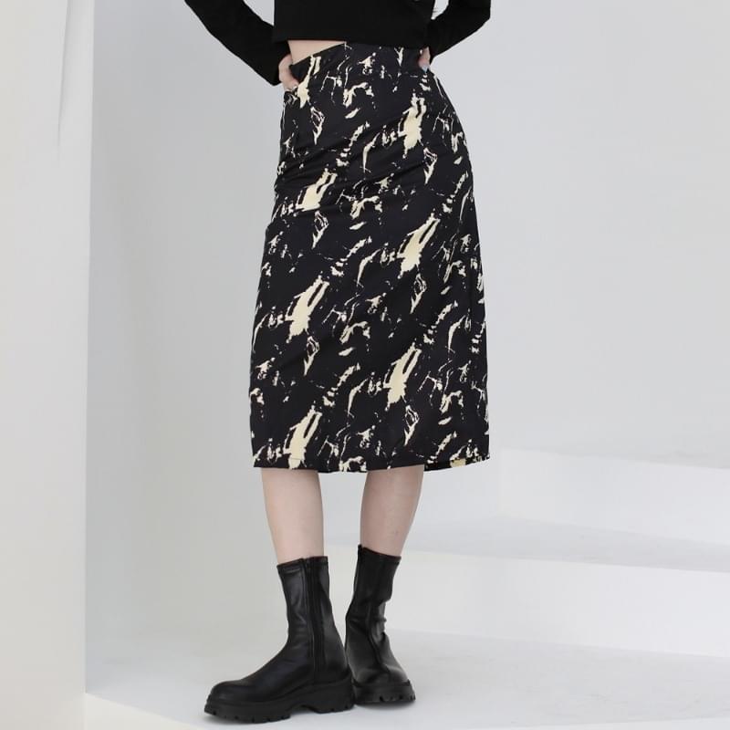 Reason Painted Long Skirt 裙子