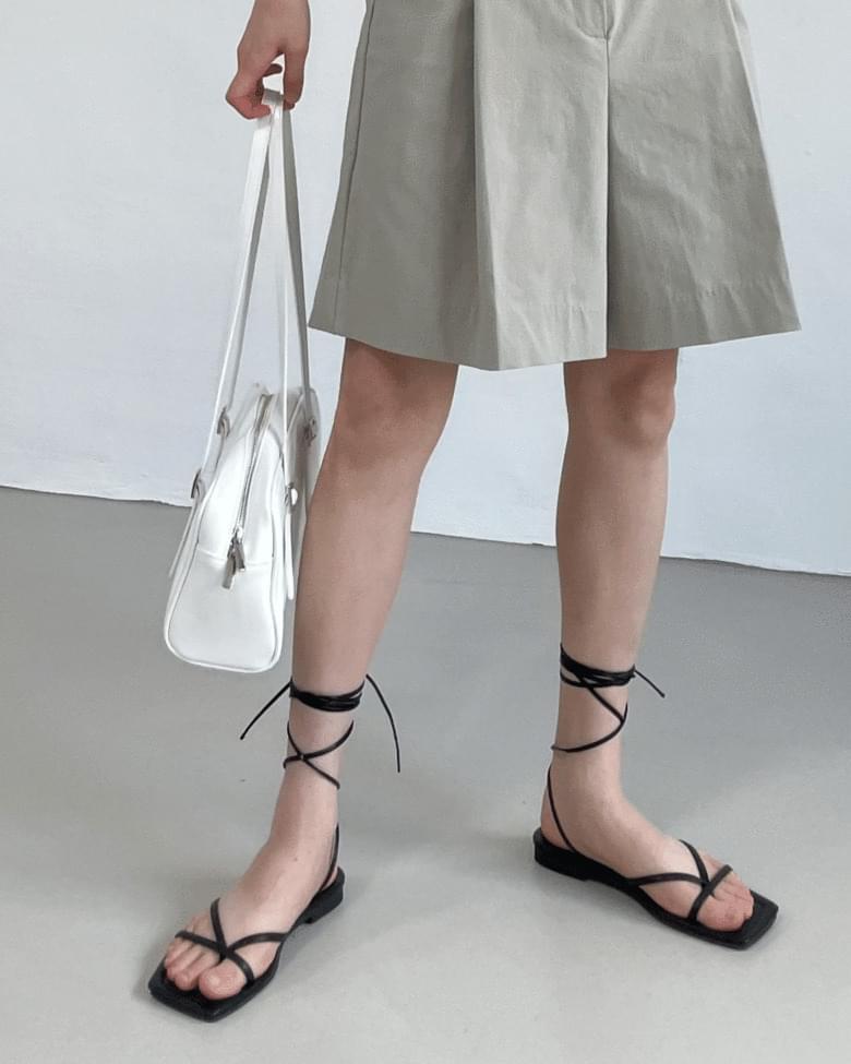 ankle strap split sandals