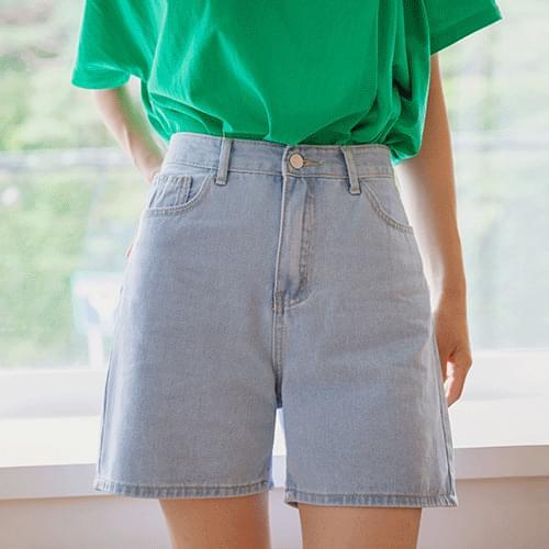 medney denim shorts
