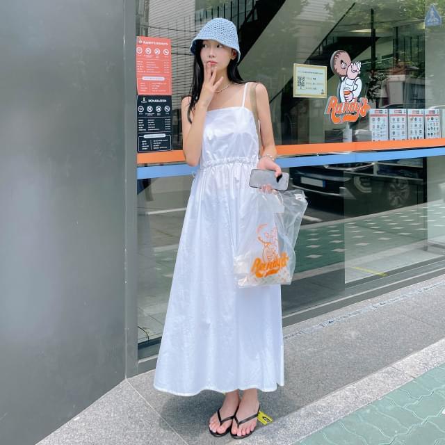 Lily side hole long Dress