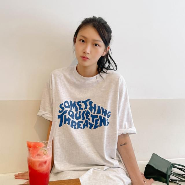 Core Overfit Lettering Tee