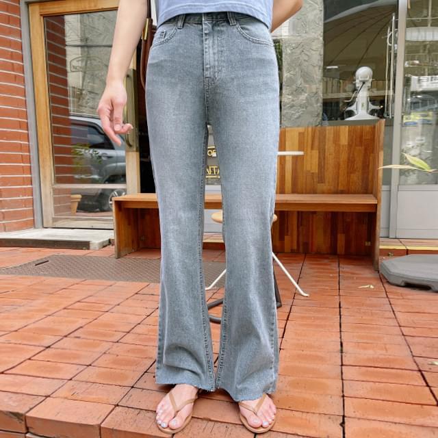 Robe Slim Flared Denim Pants 牛仔褲