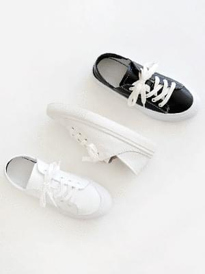 Hello Leather Two-Way Sneakers 3cm