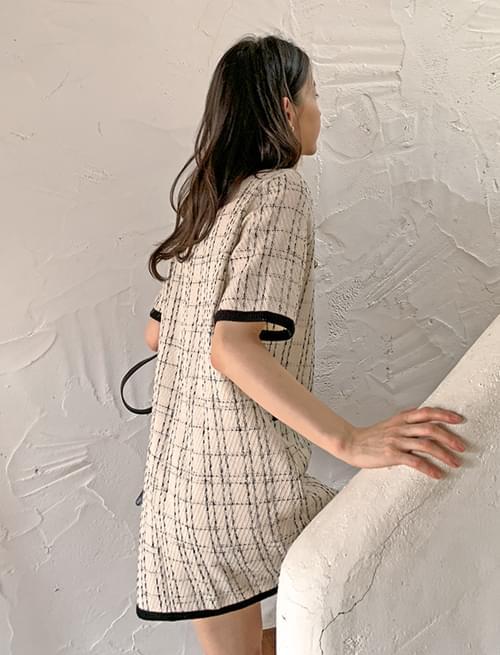 Dorothy tweed mini Dress