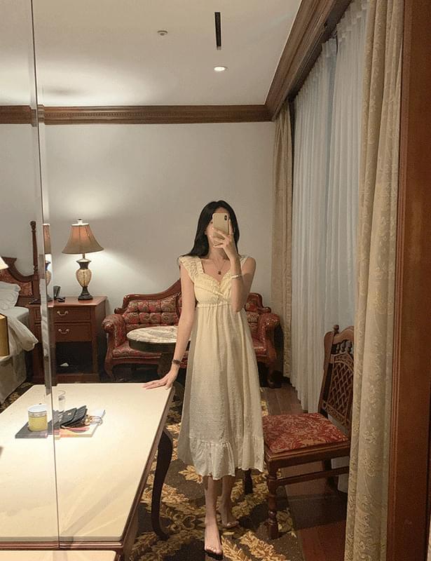 Arima Smoke Banding Dress