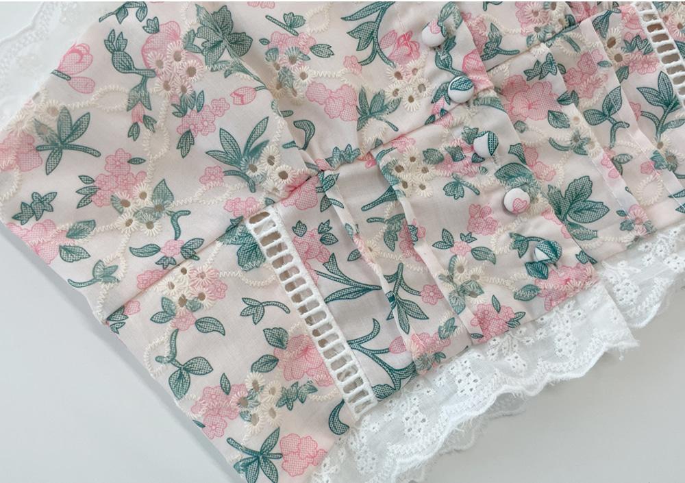 My Rose Lace Sleeveless t