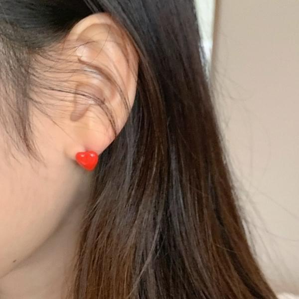 Warpie Heart Earrings