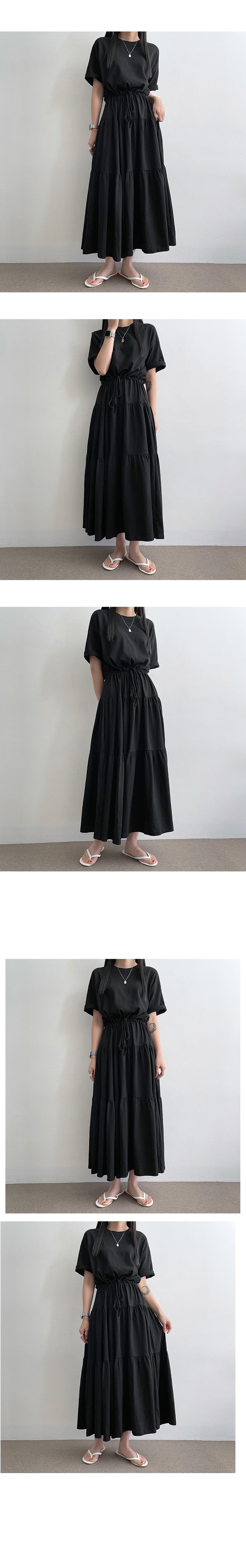 Miyu Cotton Can Kang Short Palong Dress