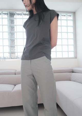 cap sleeve cotton T