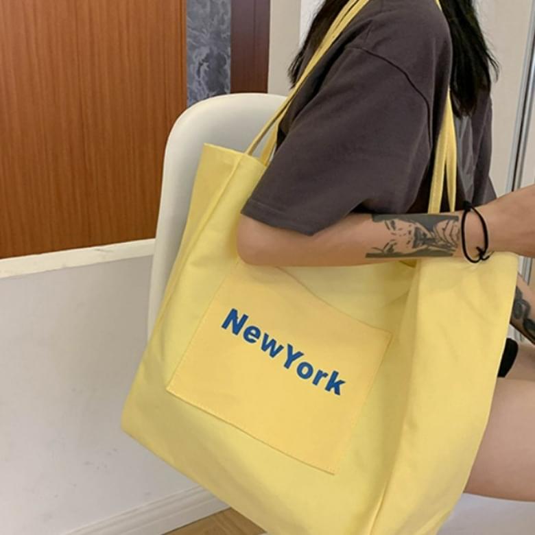 Casual City Canvas Eco Shoulder Bag