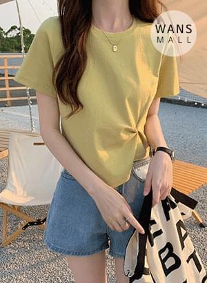 tt5443 Bady Twist Short Sleeve T-shirt