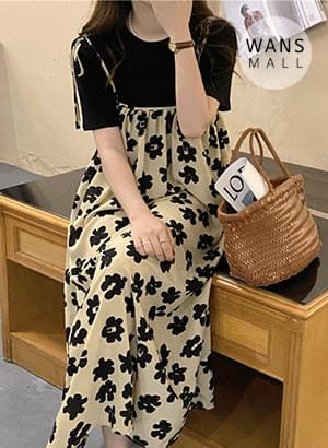 op5227 rape flower bustier Dress