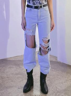 damage land wide pants
