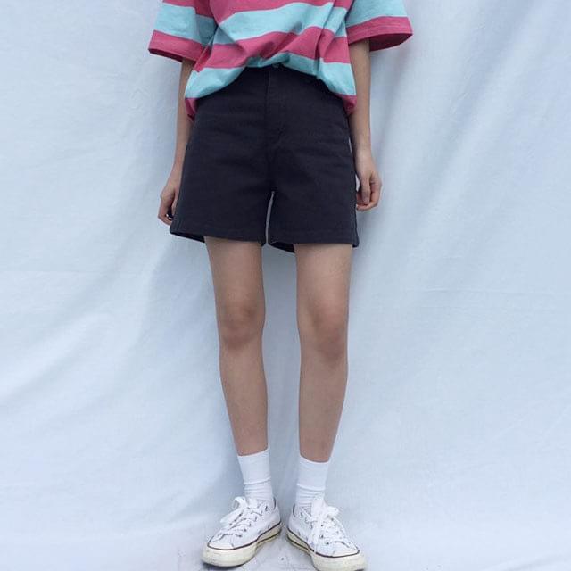 gram cotton shorts