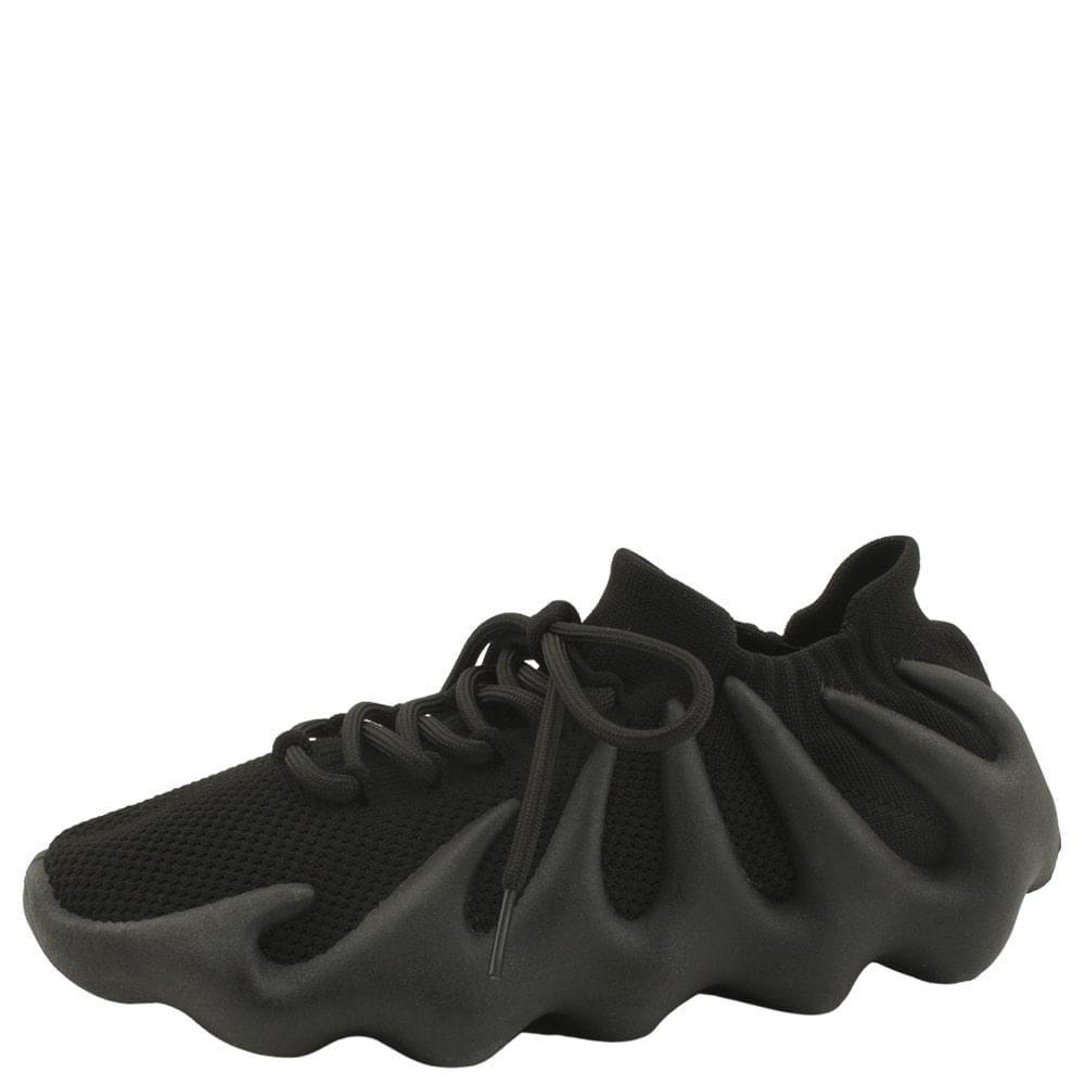 Knitwear Socks Malang Soft Sneakers Black