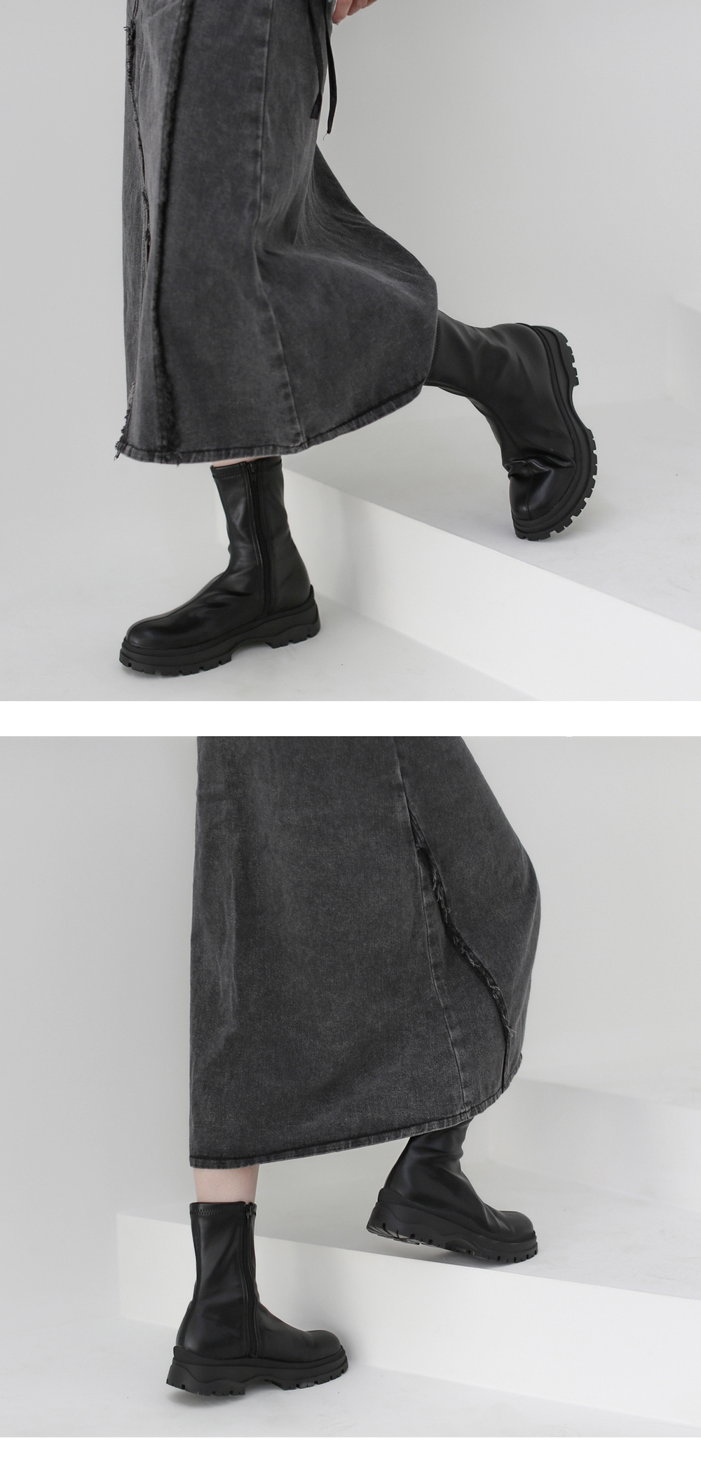 Killian leather ankle boots