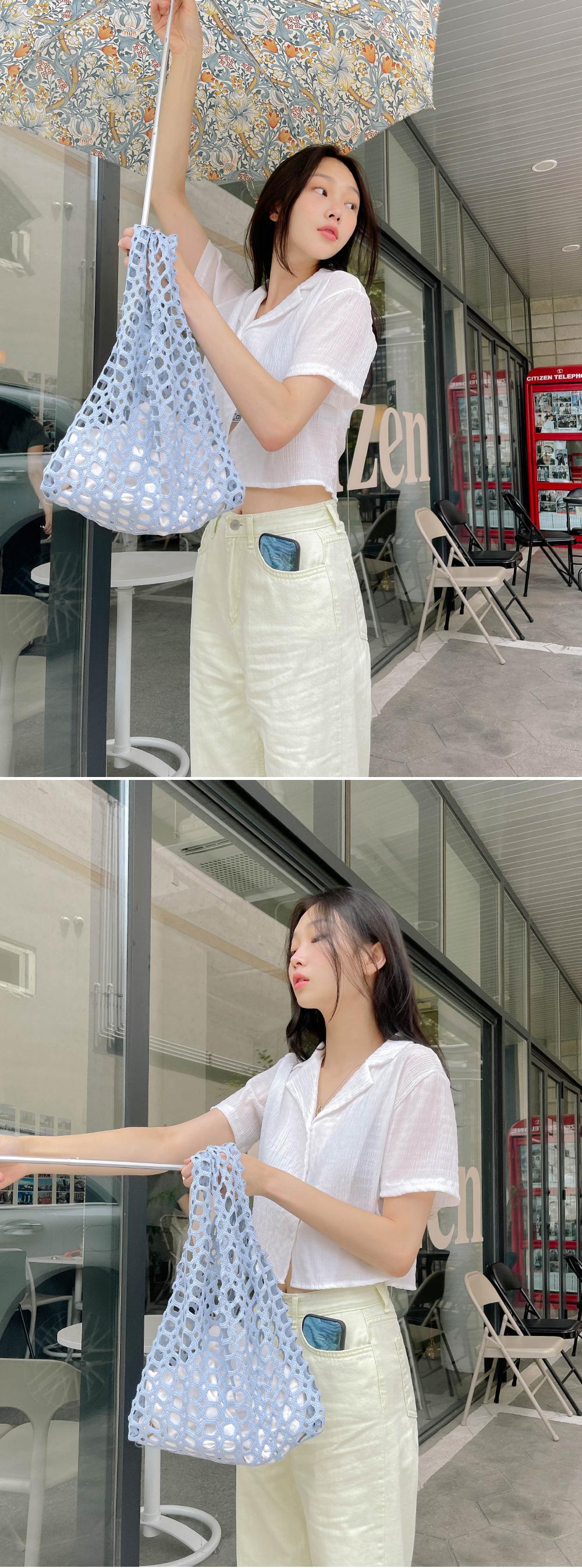 Moa Semi-Wide Cotton Pants